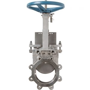 DEZURIK HEAVY DUTY CAST STAINLESS STEEL KNIFE GATE VALVES (KGC-HD)